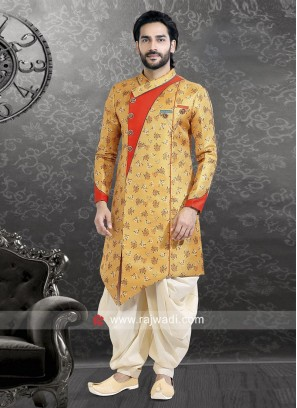 Brocade Silk Long Sleeves Indo Western
