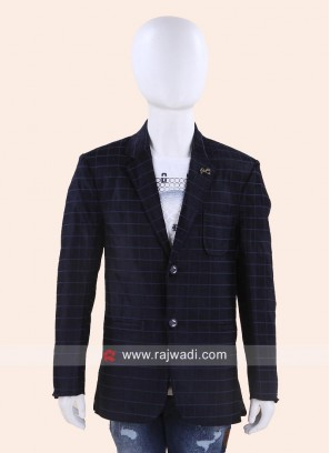 Stylish Blue Wedding Blazer
