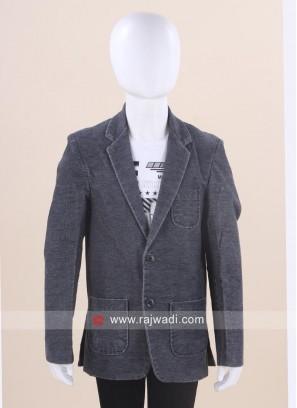 Long Sleeve Blazer with T-shirt