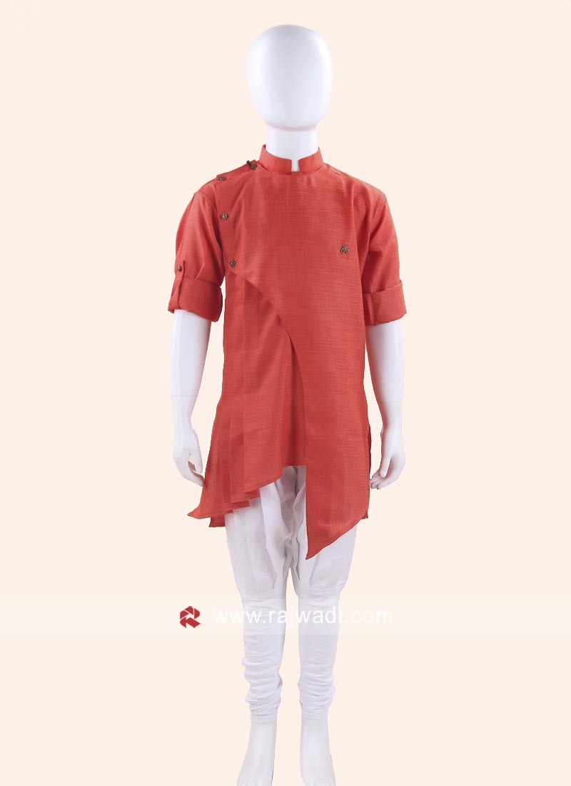 Stylish Orange Color Kurta