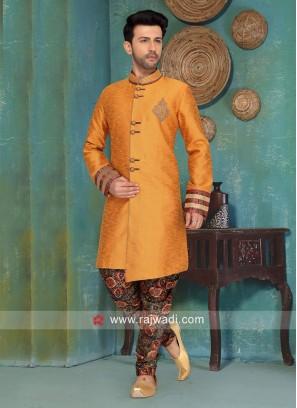 Style Art Silk Indo Western