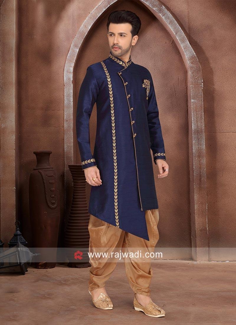 Designer Art Silk Indo Western
