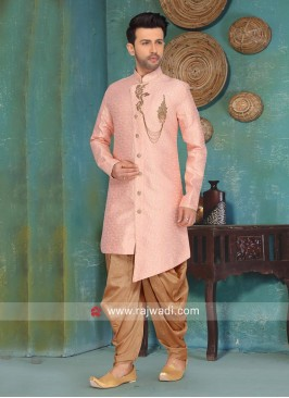 Art Silk Fabric Indo Western Sherwani