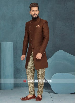 Stylish Brown Color indo Western