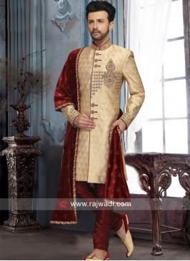 Royal Brocade Silk Sherwani