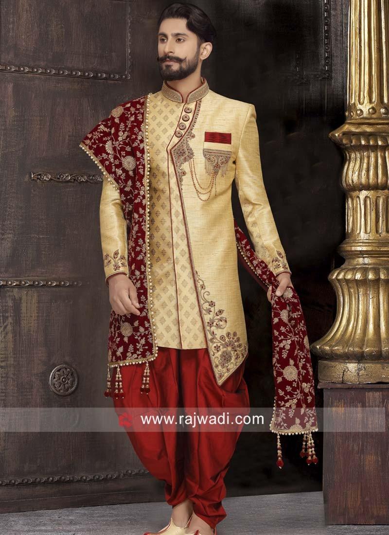 Stylish Wedding Wear Sherwani