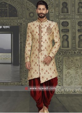 Attractive Zardozi Work Sherwani