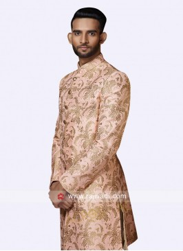 Wedding Zari Work Sherwani
