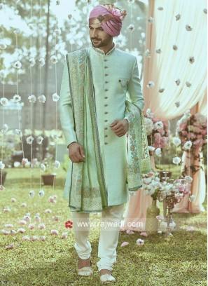 Charming Silk Fabric Indo Western