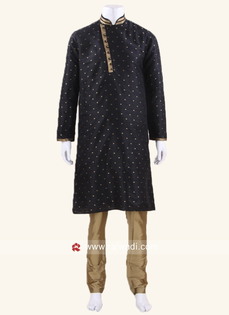 Black Color Kurta Pajama