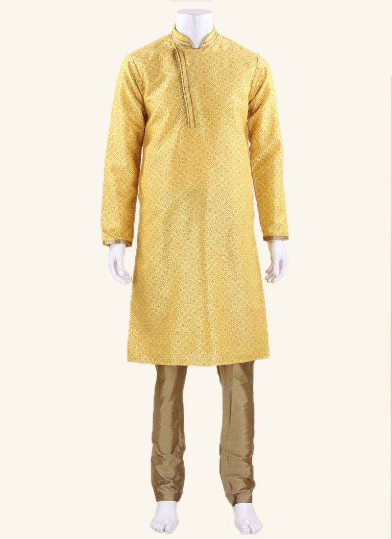 Stylish Silk Fabric Kurta Pajama