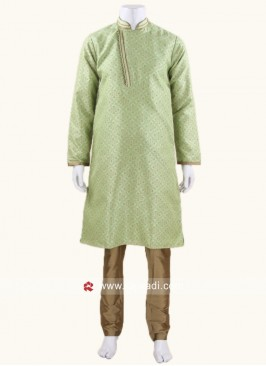 Wedding Wear Art Silk Kurta Pajama