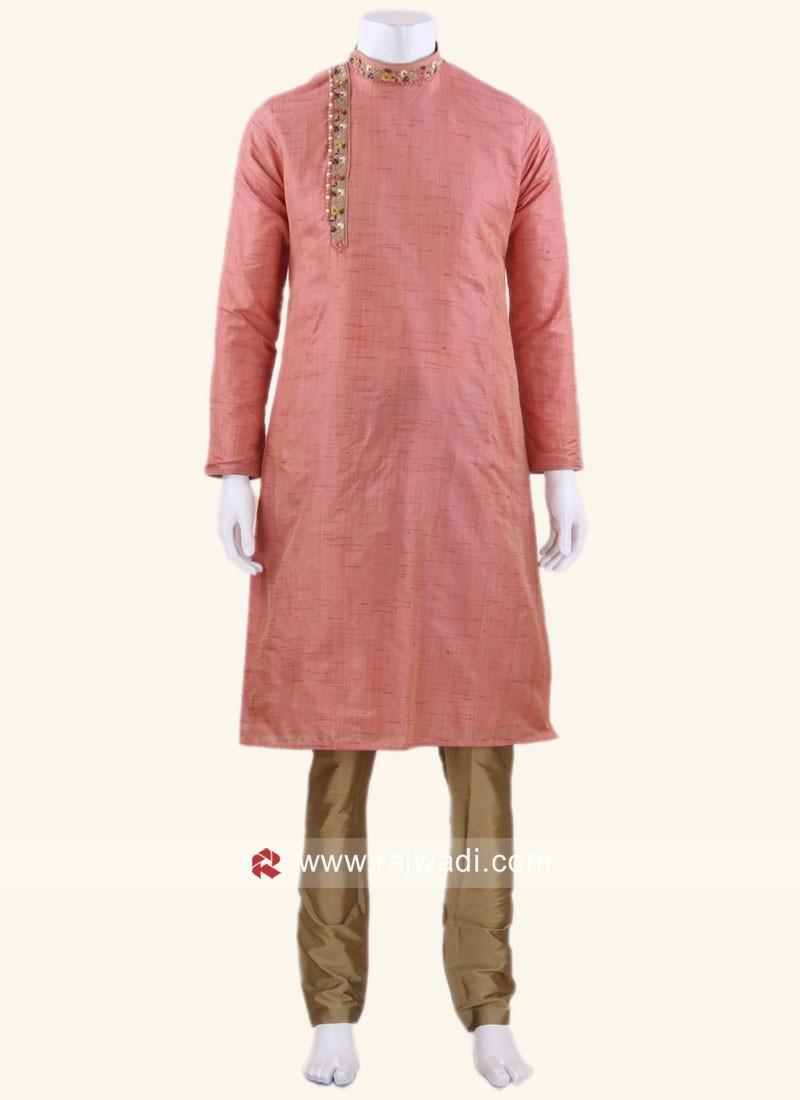 Traditional Pink kurta pajama