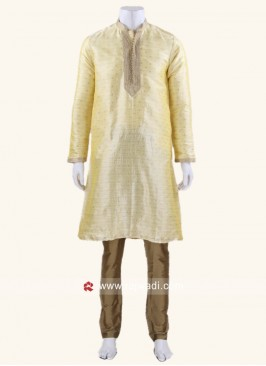 Attractive Yellow Kurta Set
