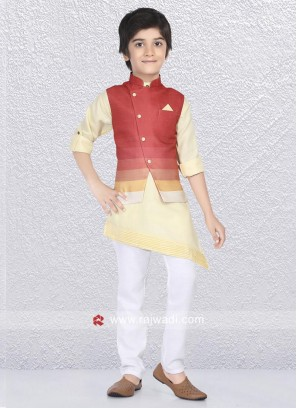 Winsome Nehru Jacket For Kids