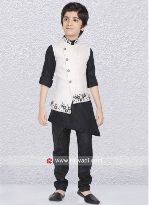 Designer Nehru Jacket For Kids