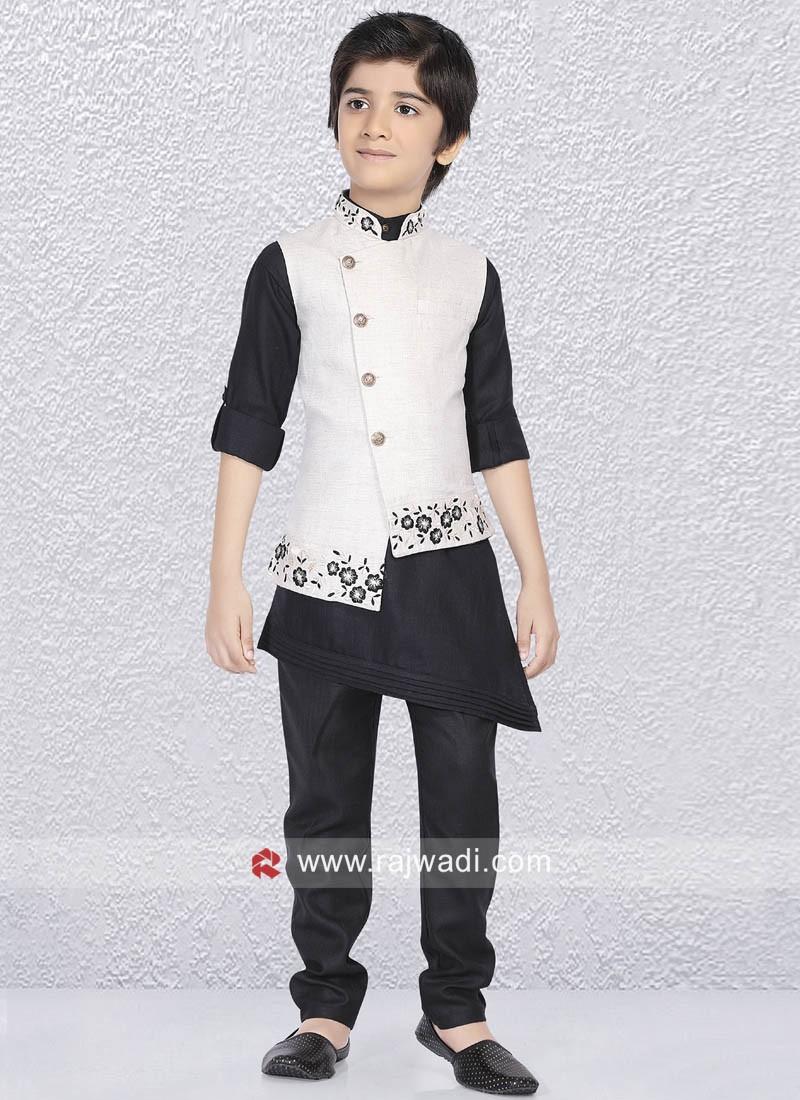 Designer Nehru Jacket For Kids