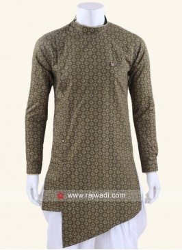 Attractive Round Neck Kurta For Party