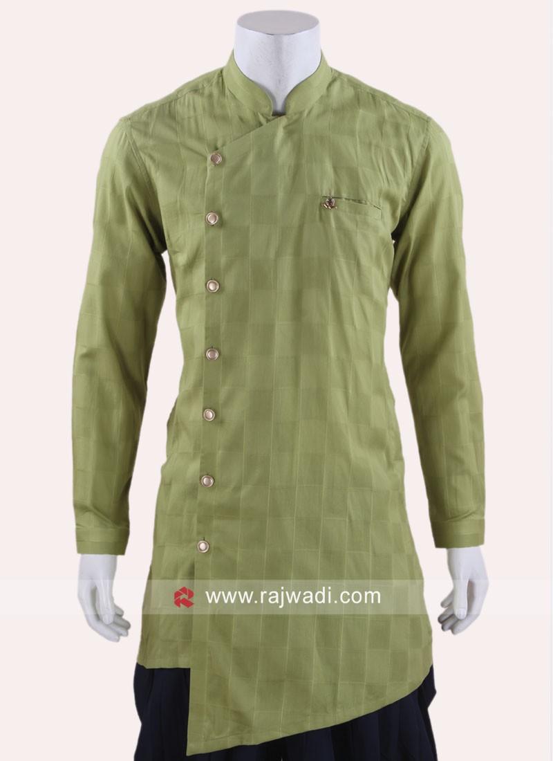 Stylish Pista Green Color Kurta