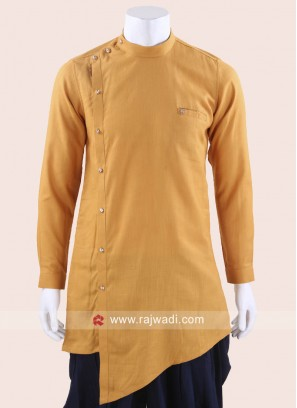 Beautiful Golden Yellow Kurta