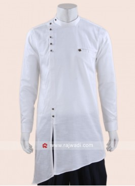 Cotton Silk Fabric Kurta For Mens