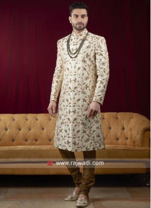 Resham Work Sherwani