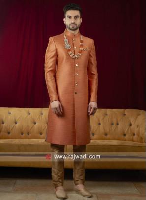 Silk Long Sleeves Indo Western