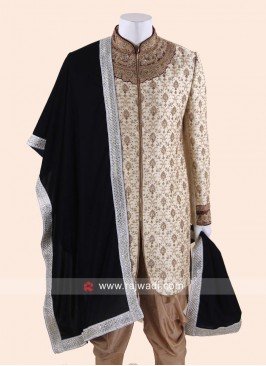Navy Color Velvet Fabric Dupatta