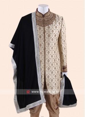 Navy Color Velvet Fabric Dupatta