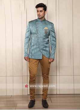 Satin Silk Fabric Jodhpuri Suit For Wedding