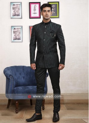 Designer Imported Fabric Jodhpuri Suit