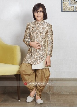 Brocade Silk Indo Western For Kids
