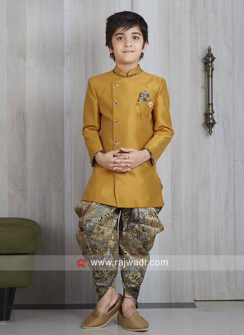 Attractive Art Silk Fabric Indo Western