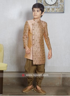Stylish Zari Work Boys Indo Western