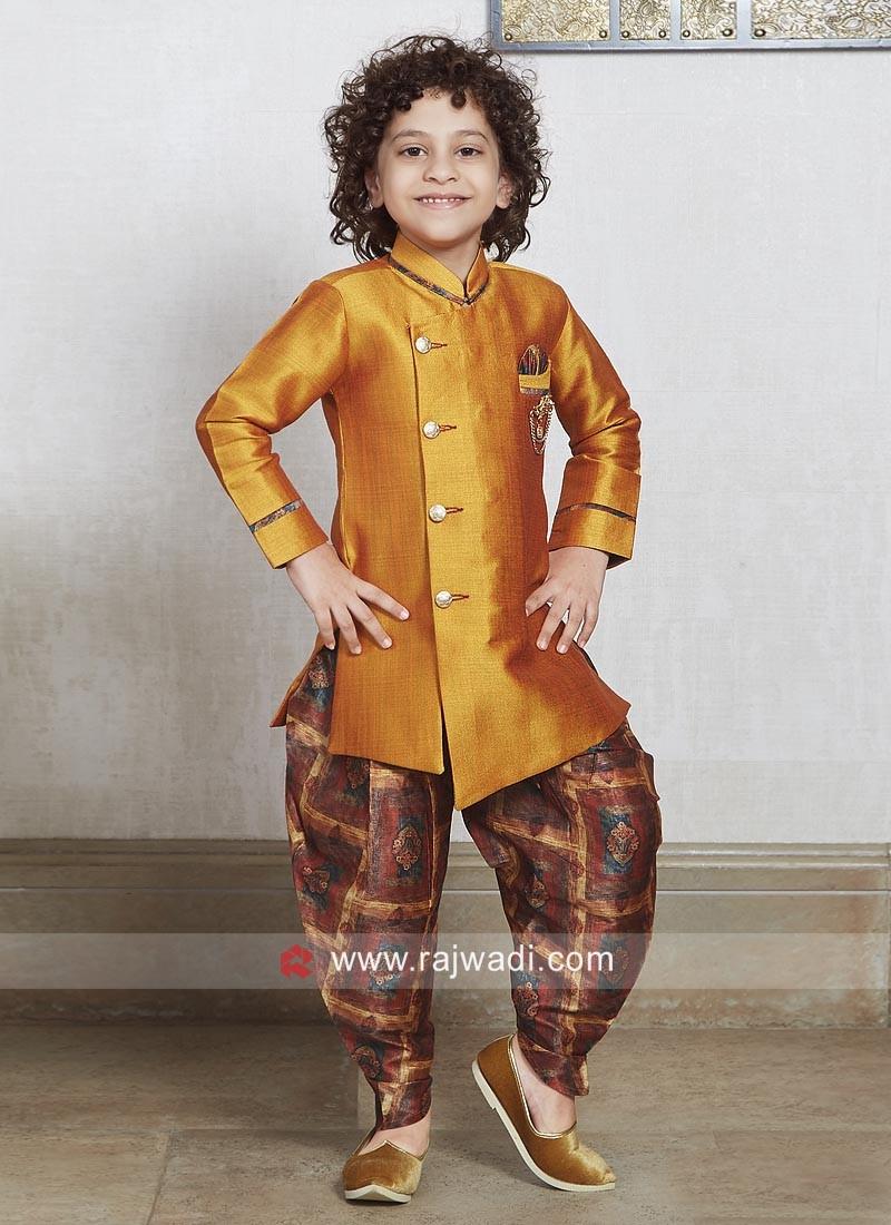 Designer Wedding Indo Western For Boys