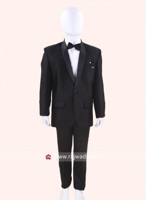 Stylish Black Boys Suit