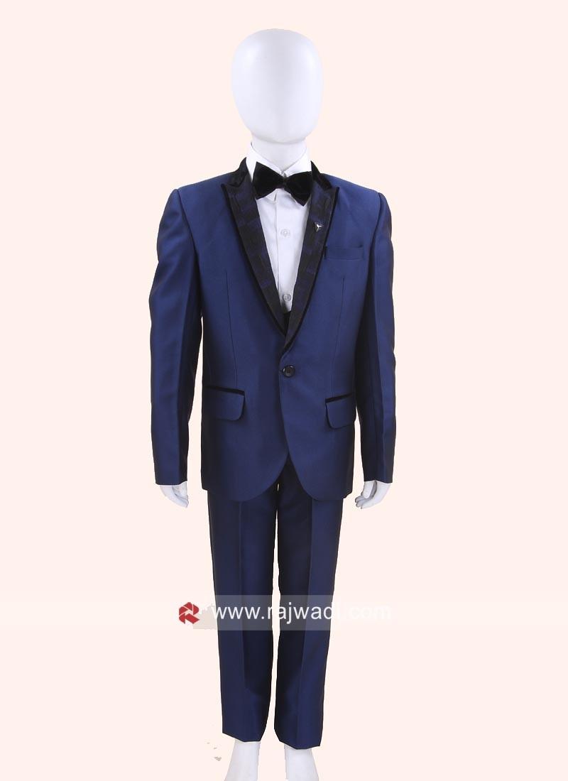 Classic Blue Color Suit For Kids
