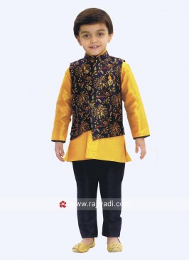 Stylish Boys Nehru Jacket For Wedding