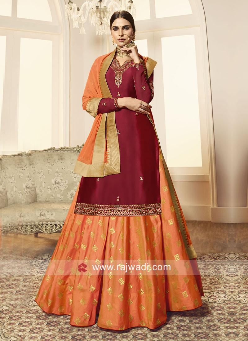 Wedding Wear Lehenga Salwar Suit