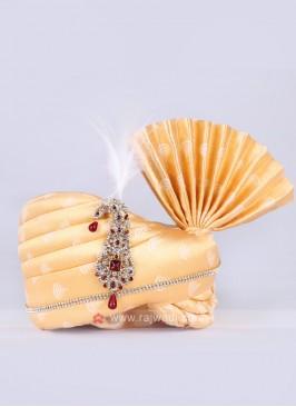 Art silk yellow safa