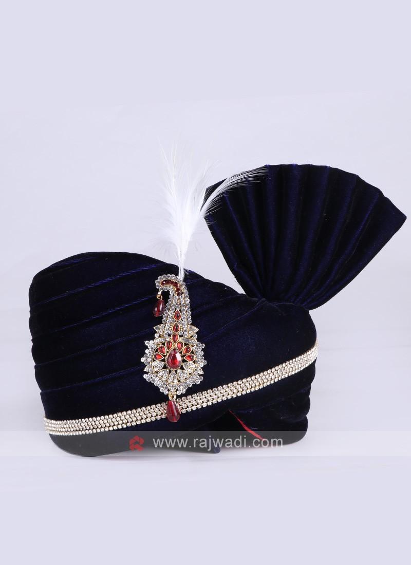 Velvet Navy Color Safa