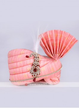 Wedding Wear Pink Color Safa