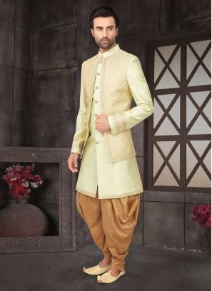 Koti Style Indo-Western For Wedding