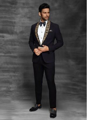 Imported Black Color Suit