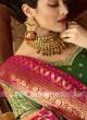 Banarasi Silk Shaded Saree