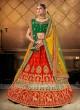 Bridal Lehenga Choli With 2 Dupattas