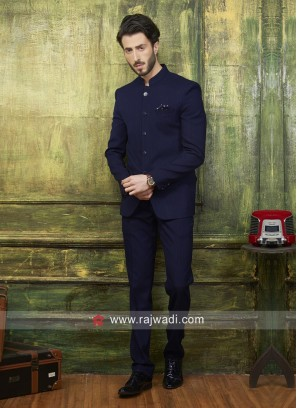 Imported Fabric Wedding Jodhpuri Suit