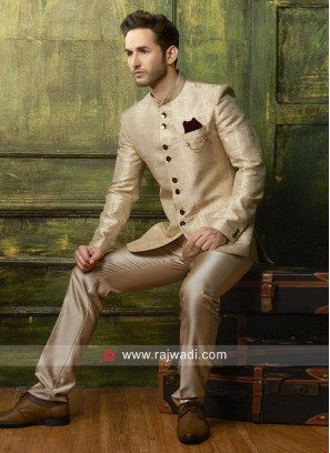 Stylish Imported Fabric Jodhpuri Suit