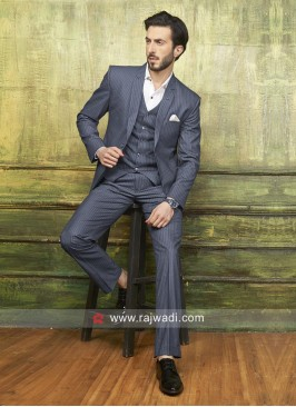 Imported Grey Color Suit