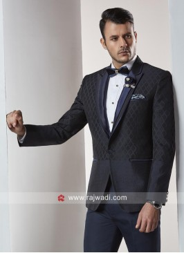 Attractive Navy Color Suit For Party